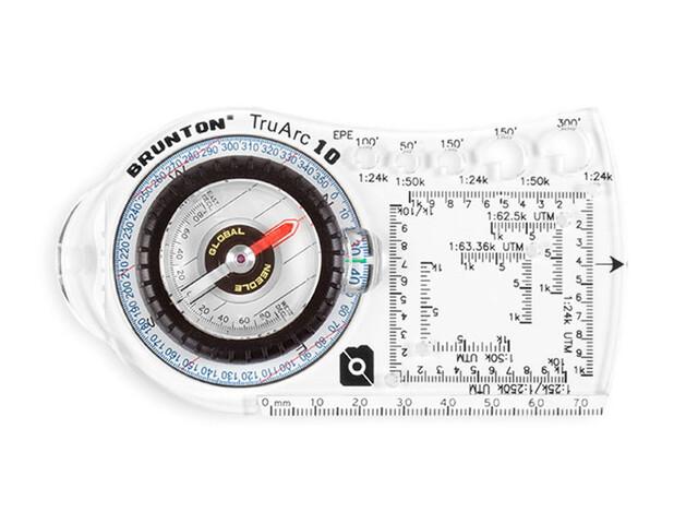 Brunton TruArc 10 Kompas sort/gennemsigtig
